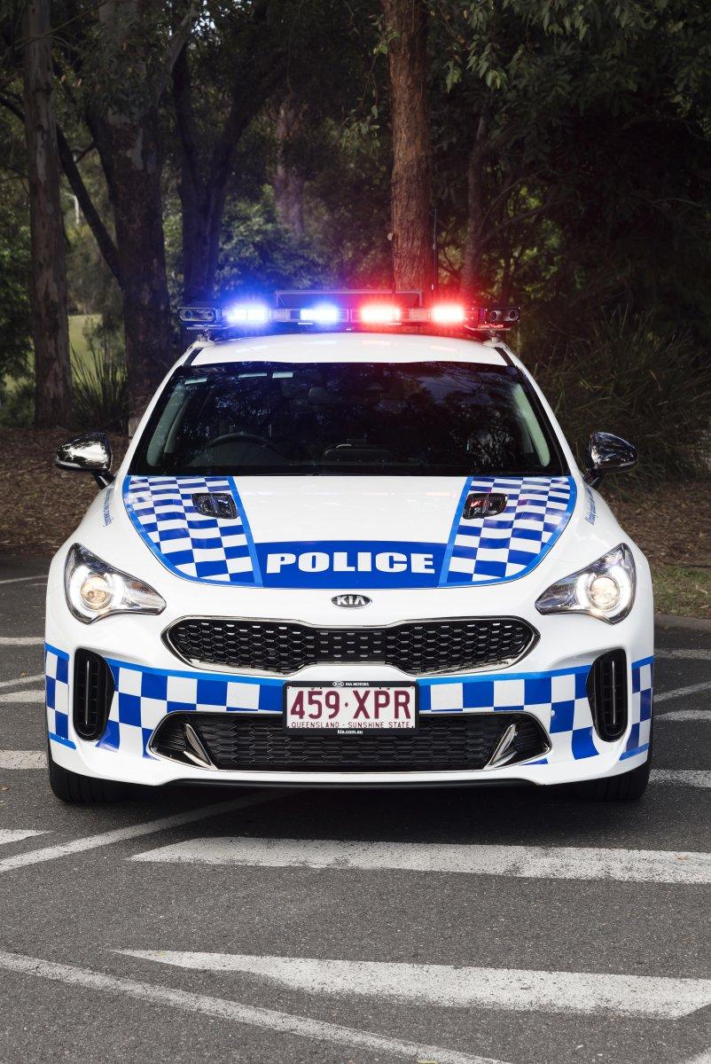 Kia Stinger sworn in as Queensland Police pursuit car ...