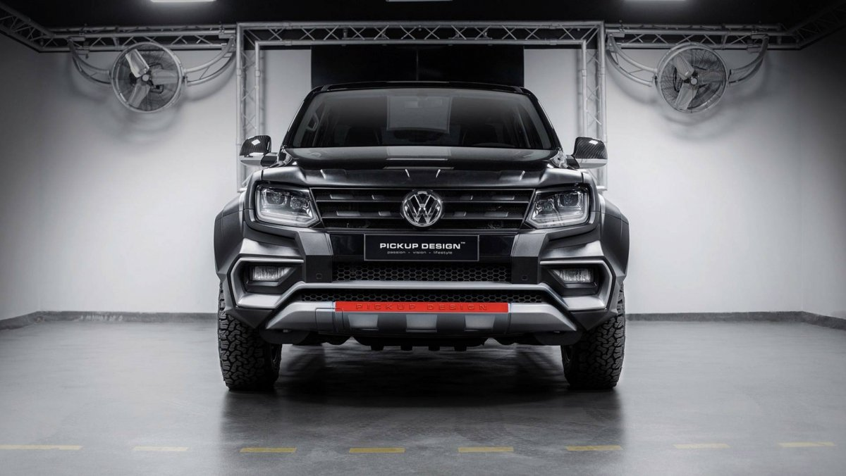 Carlex Design Turns Volkswagen Amarok Into Quot Amy Quot Forcegt Com