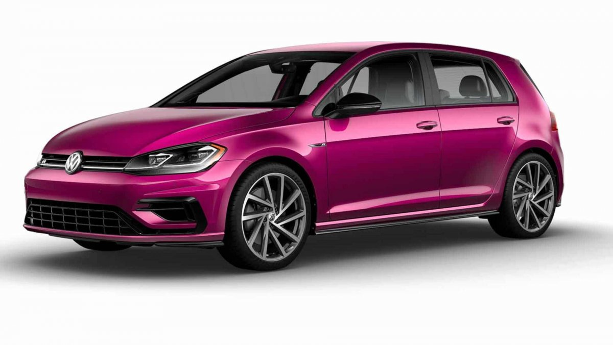 volkswagen golf r now offered in 40 new shades in the u s. Black Bedroom Furniture Sets. Home Design Ideas