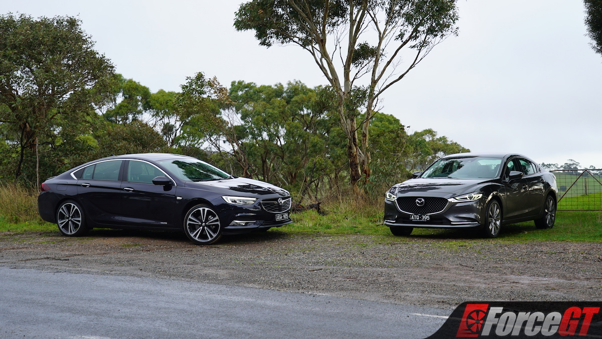 Mazda Mzd Connect Apple Carplay >> 2018 Mazda6 GT vs Holden Commodore Calais-V Comparison Review - ForceGT.com