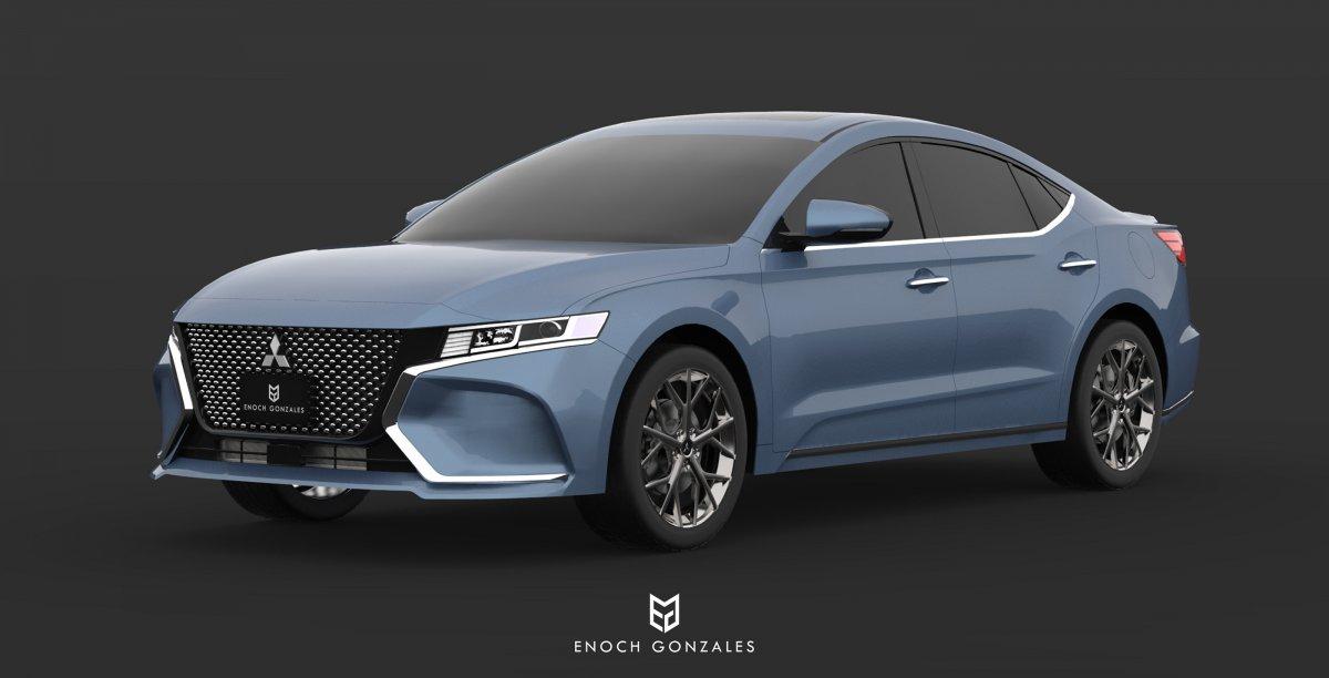 2020 Mitsubishi Galant/380 imagined - ForceGT.com