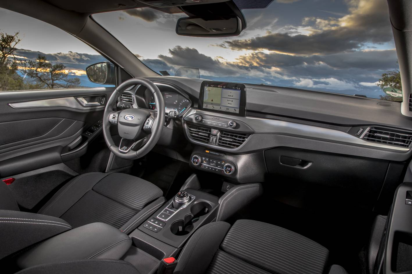 2019 Ford Focus Titanium Interior Forcegt Com