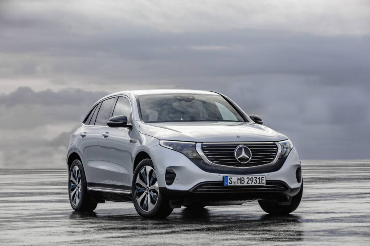 All Electric Mercedes Benz Eqc To Enter Production In 2019