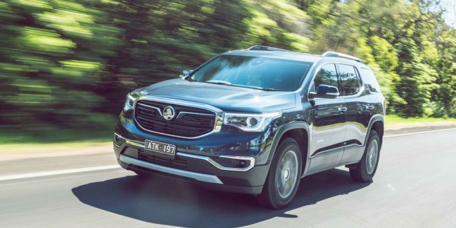 2019 Holden Acadia pricing and specs