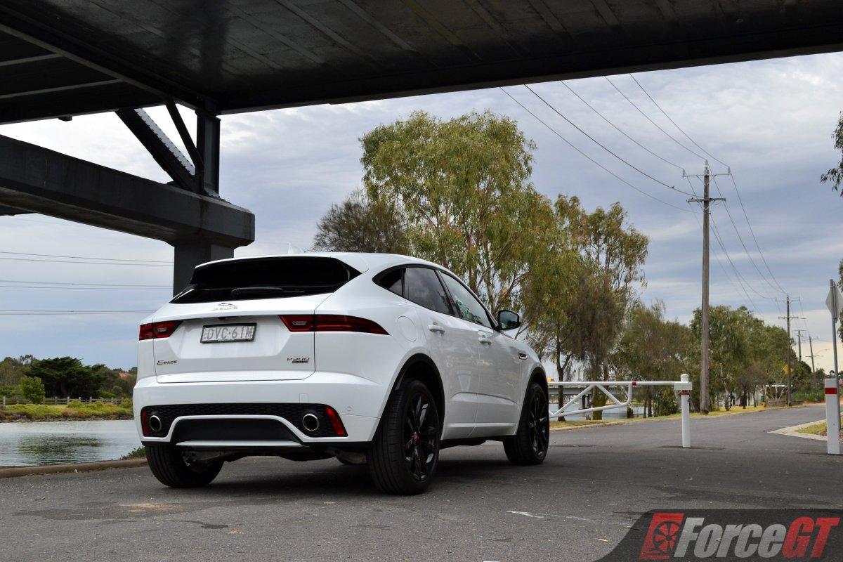 Jaguar E Pace R Dynamic Rear