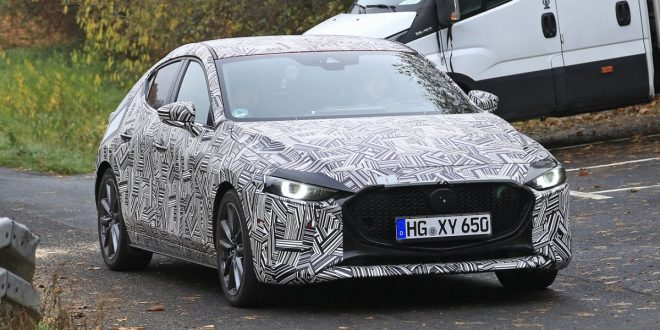 2019 Mazda3 spied with interior shots