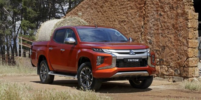 First look: 2019 Mitsubishi Triton