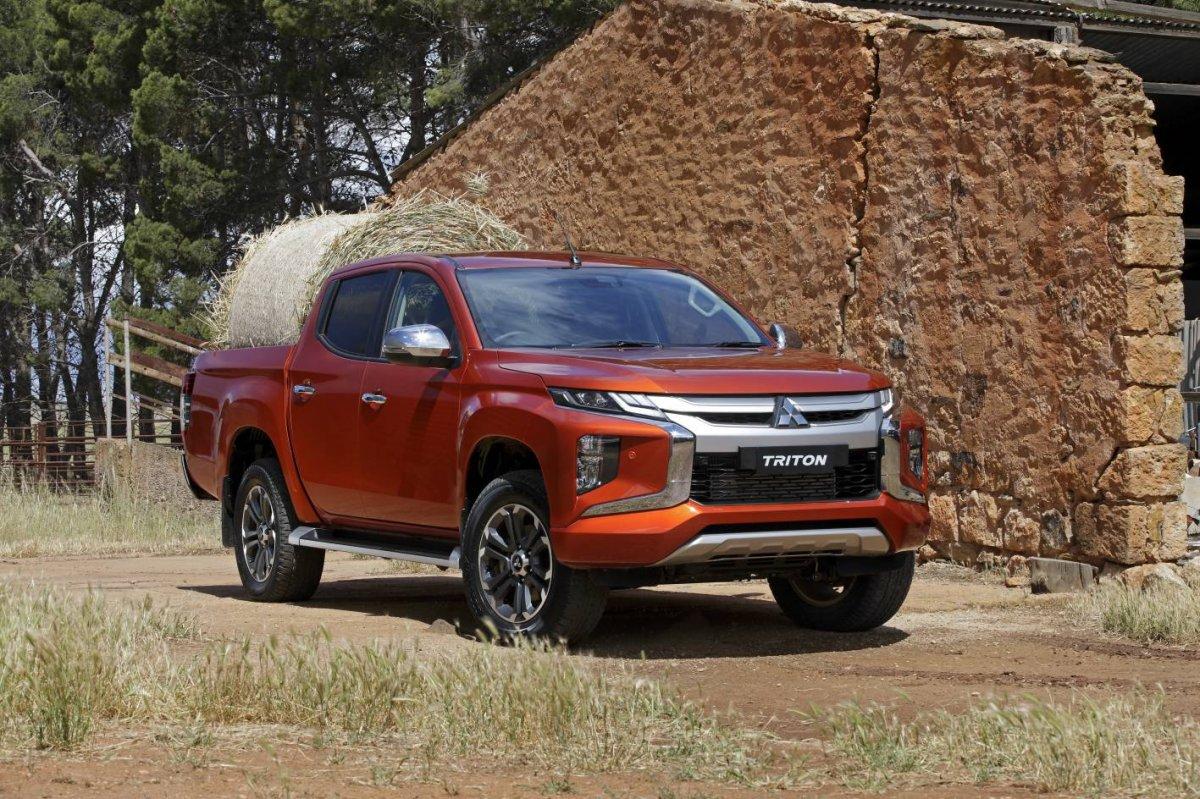 First Look 2019 Mitsubishi Triton