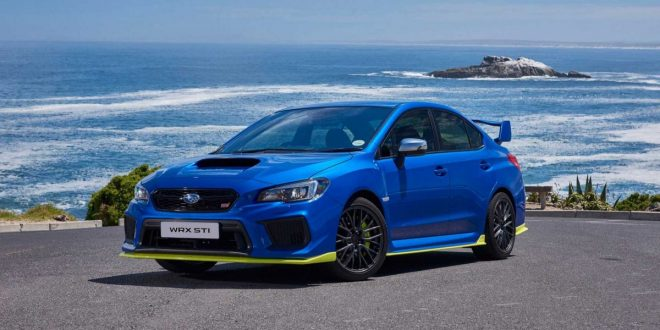 Subaru WRX STI Diamond Edition is the most powerful STI ever