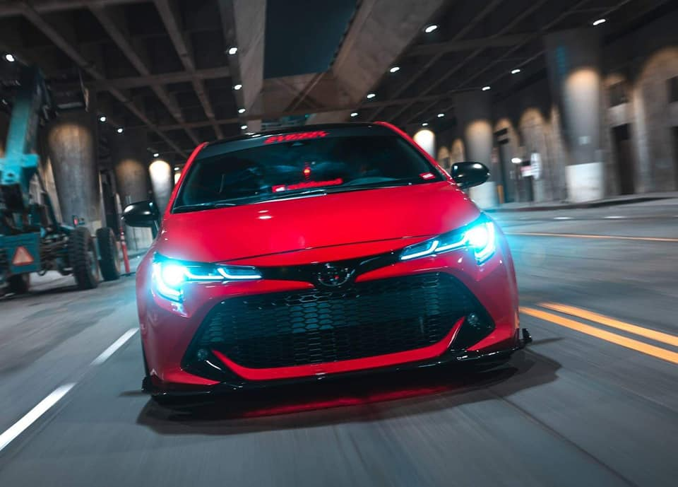 2019 Toyota Corolla Hatch Modified Body Kit 3 Forcegt Com