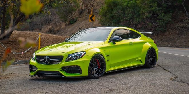 Mercedes-AMG C63 S gets aggressive Prior Design widebody kit