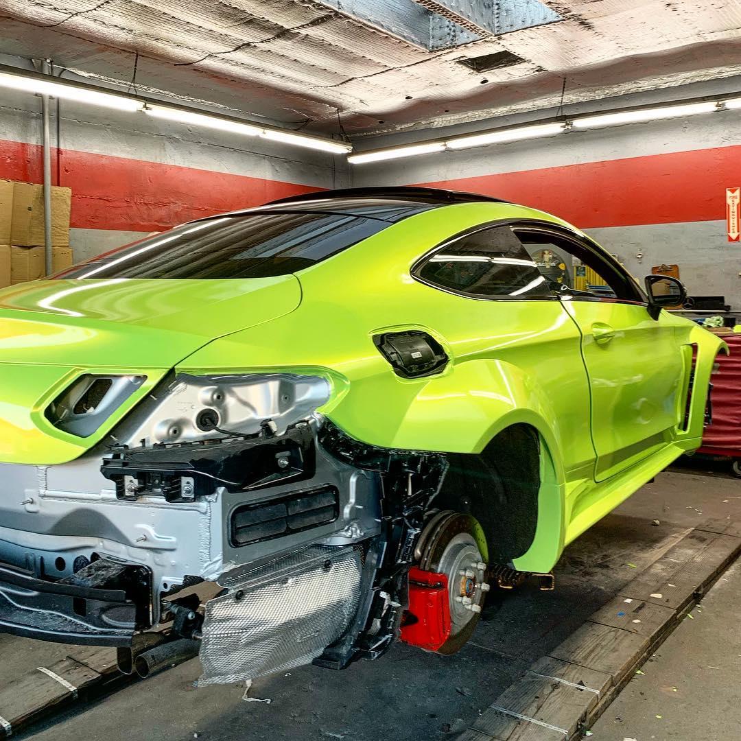 Mercedes-AMG C63 S gets aggressive Prior Design widebody kit