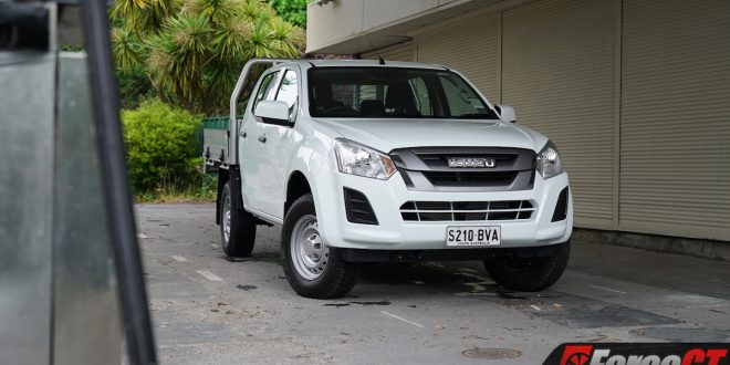 2019 Isuzu D-Max SX Cab Chassis Review – hi-vis not included