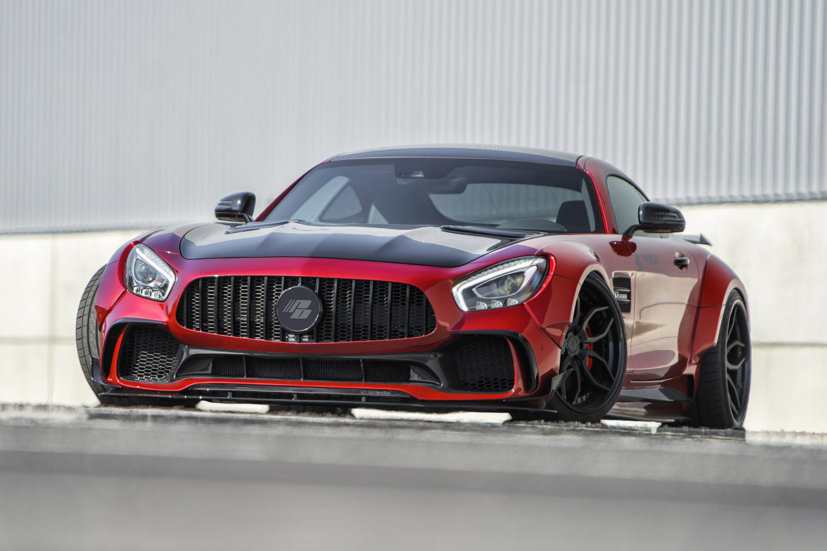 Prior Design drops Mercedes-AMG GT PD700GTR wide body - ForceGT com