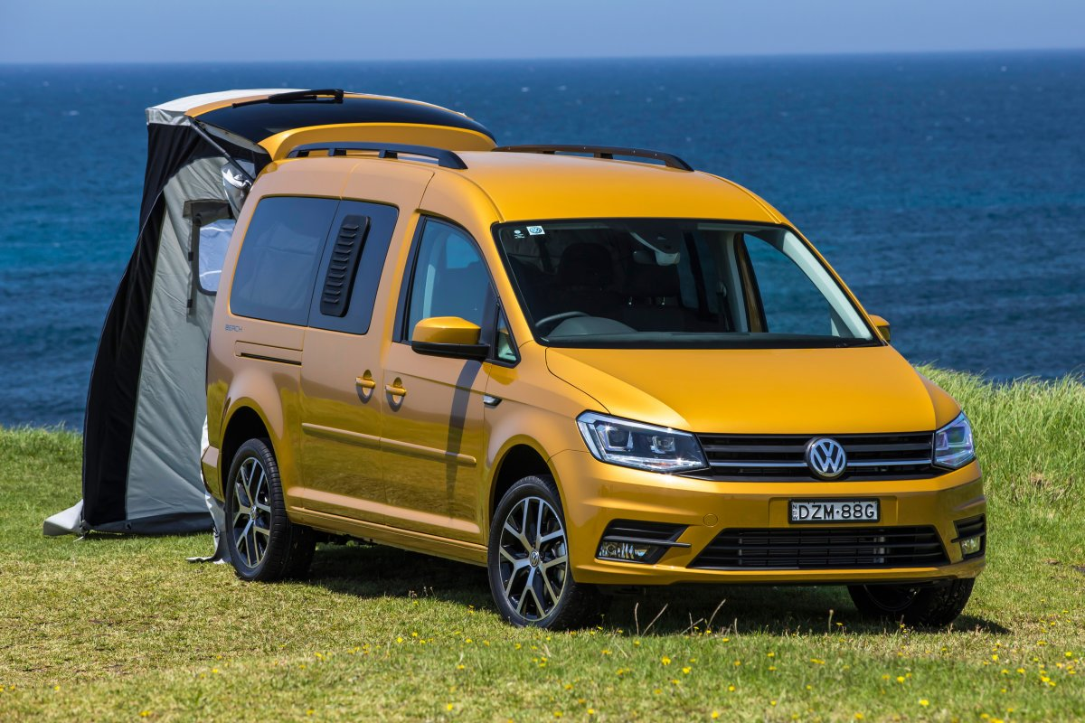 Volkswagen Caddy Beach Campervan Checks In At 46 990