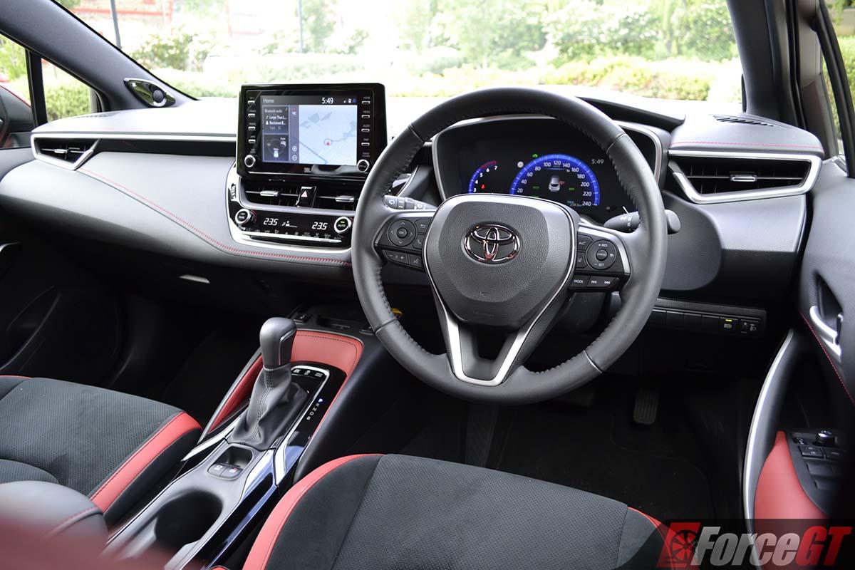 2019 Toyota Corolla Zr Hybrid Hatch Interior Forcegt Com