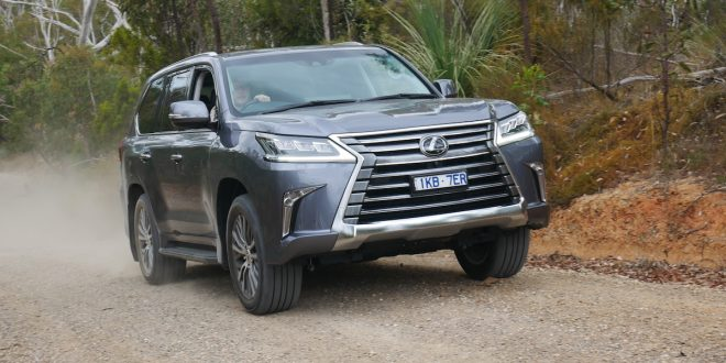 2019 Lexus LX 450d Off-Road Review