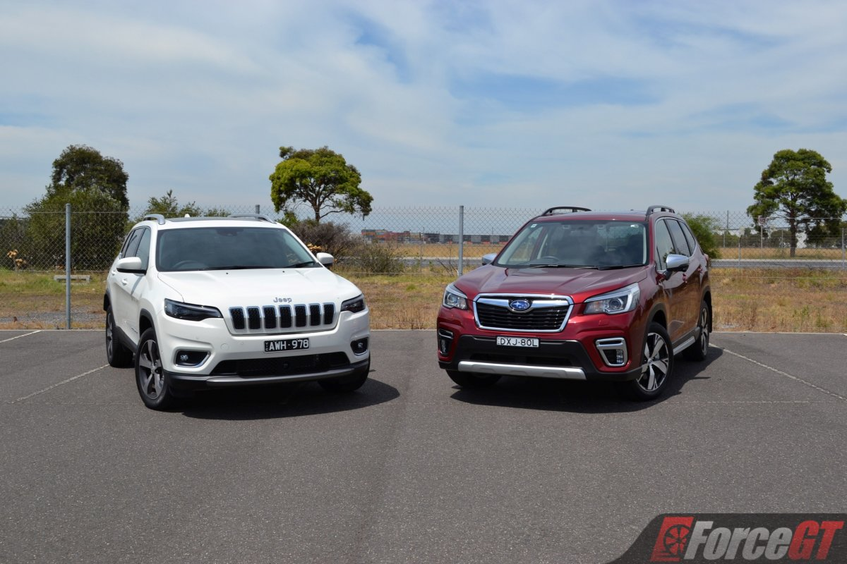 Mid Size Suv Comparison Subaru Forester Vs Jeep Cherokee Review Forcegt Com