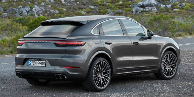 Porsche unveils sleek Cayenne Coupé to take on X6