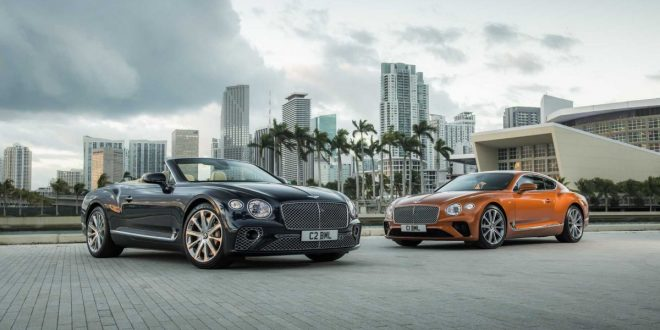 V8-powered Bentley Continental GT coupe and cabrio join range