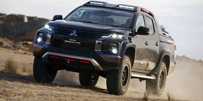 Mitsubishi Triton Absolute showcases potential toughen up Triton