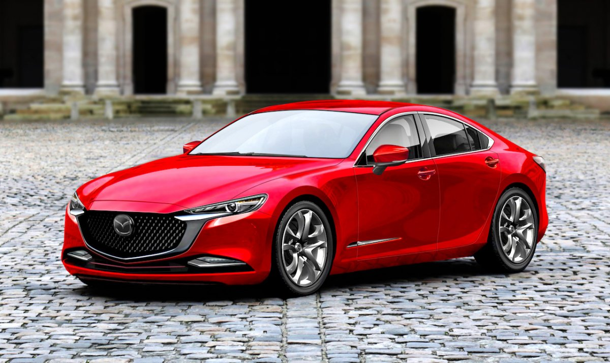 Next Gen 2020 Mazda 6 Rendered And It Looks Ace Forcegt Com