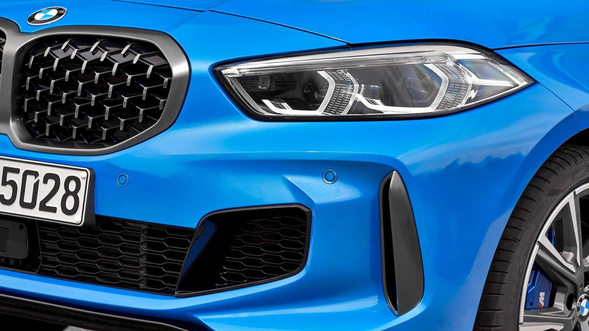 first look: all-new 2020 bmw 1 series hatch, gets m135i