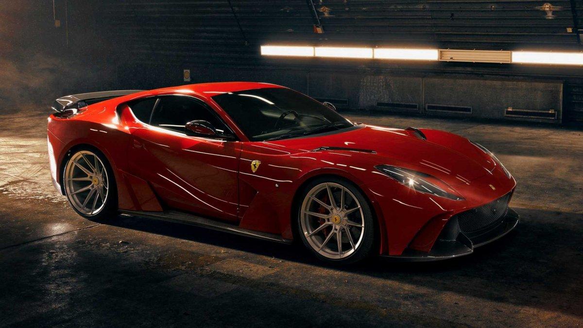 Novitec N-Largo widebody Ferrari 812 Superfast unveiled ...