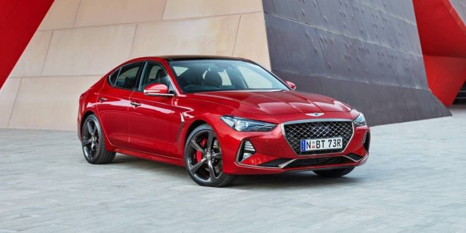 Genesis G70 arrives in Australia from $59,300