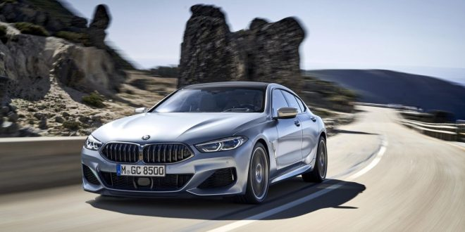 BMW 8 Series Gran Coupe unveiled