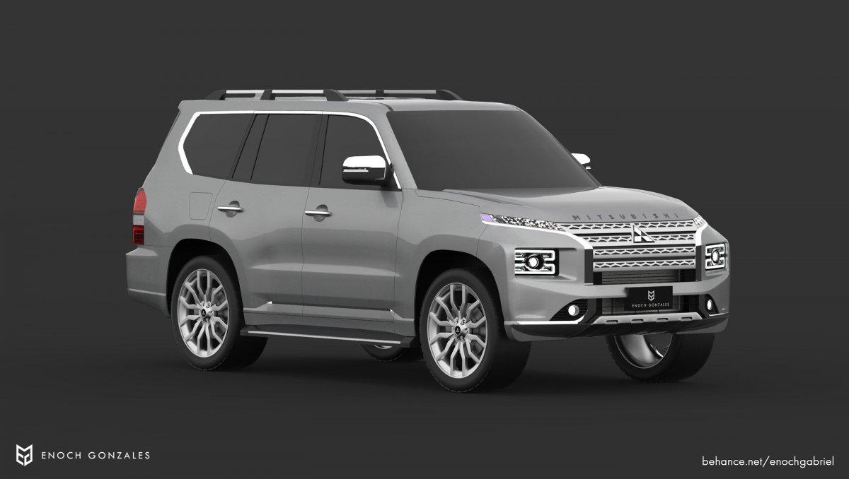 Render: 2021 Mitsubishi Pajero brings more upmarket ...