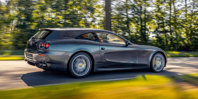 Vandenbrink transforms Ferrari 612 into a shooting brake