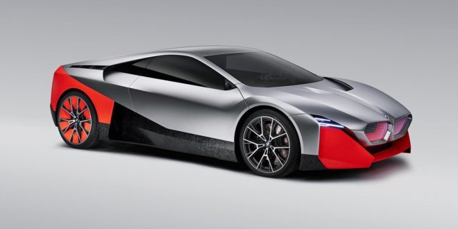 BMW Vision M Next is a peek into the future of M cars