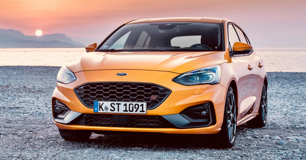 2019 Ford Focus St Orange Fury Front Forcegt Com
