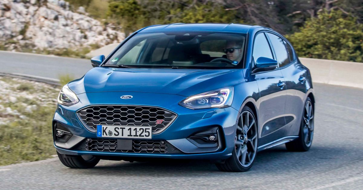 kwnm mk ford focus st launches   uk forcegtcom