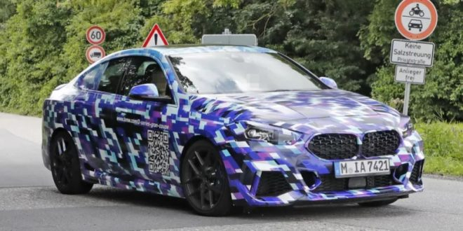 Spied: BMW 2 Series Gran Coupe hits the road