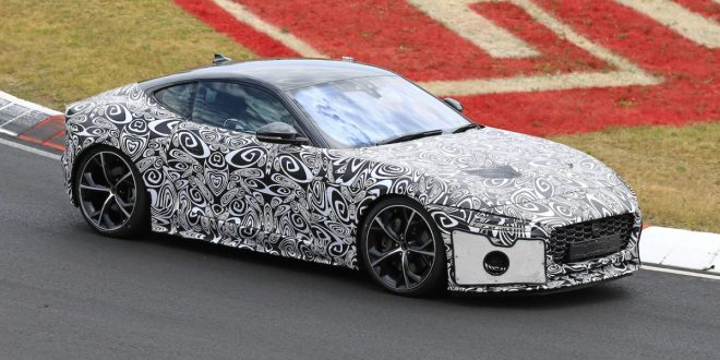 Next-gen Jaguar F-Type spotted testing at Nurburgring