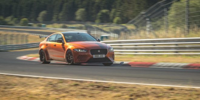 Jaguar XE SV Project 8 breaks its own Nürburgring record