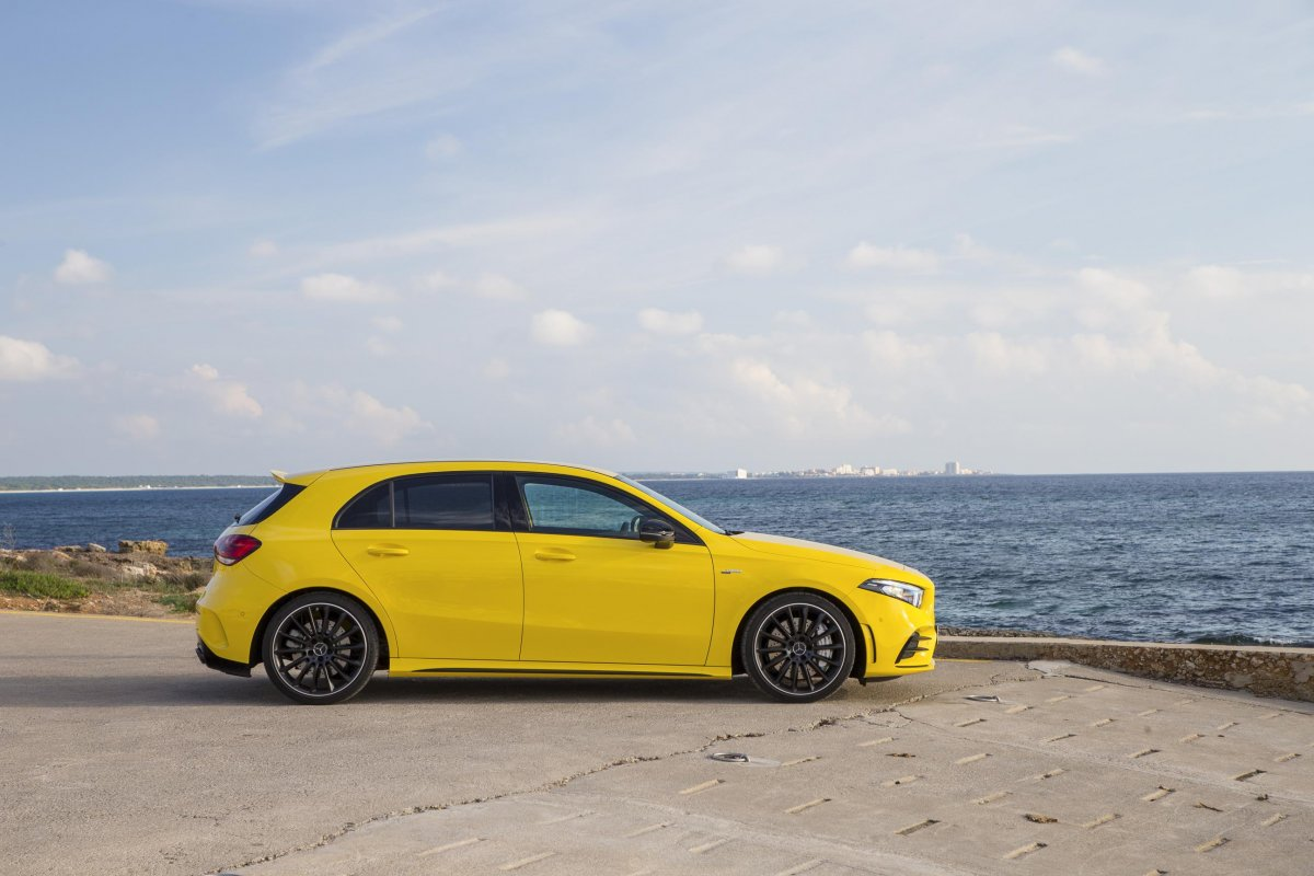 2020 mercedes amg a35 pricing and specification. Black Bedroom Furniture Sets. Home Design Ideas