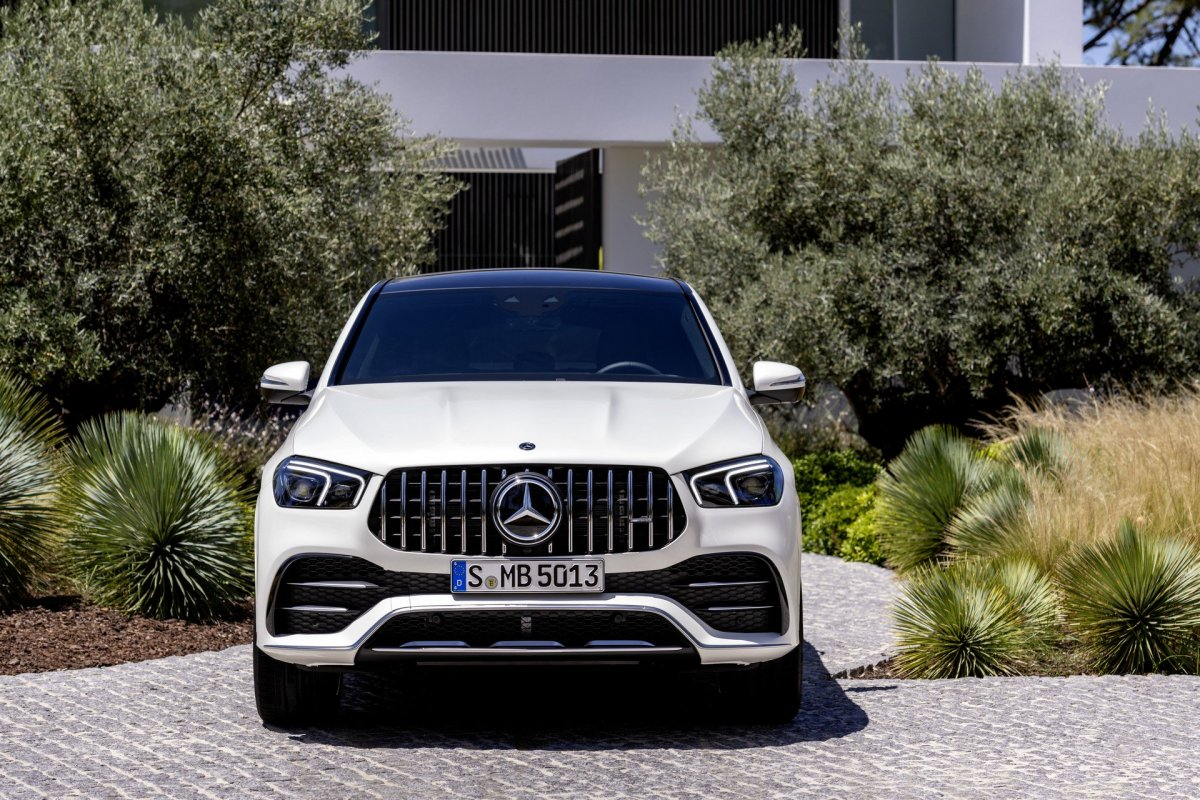2020 mercedes-amg gle53 coupe breaks cover