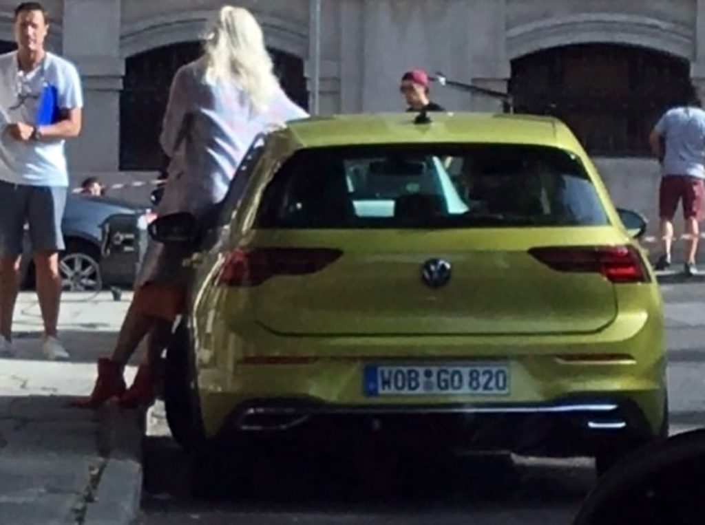 SPIED: Caught On Camera! The All-new Volkswagen Golf