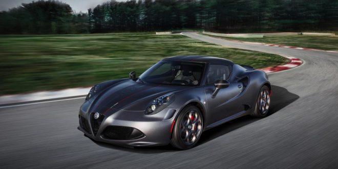 Alfa Romeo 4C Competizione Limited Edition checks in