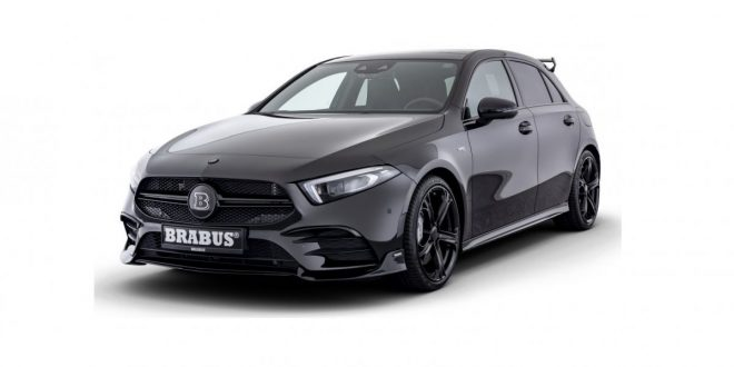 Mercedes-AMG A35 gets more attitude and power from Brabus