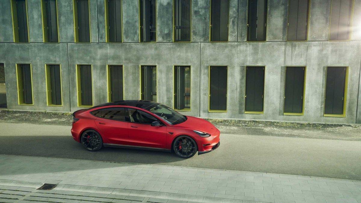 Tesla Model 3 gets the Novitec treatment - ForceGT com