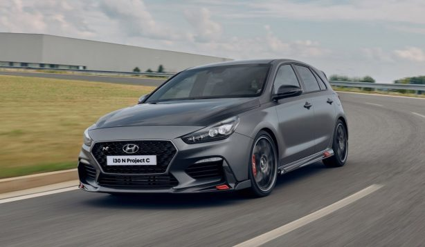 2020-hyundai-i30-n-project-c_front-614x358 Sharper, lighter Hyundai i30 N Project C makes debut - ForceGT.com