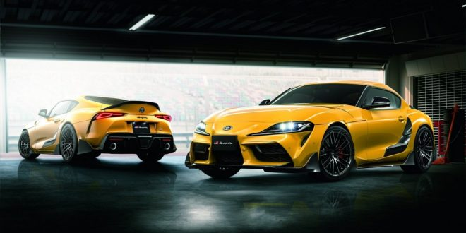 Toyota GR Supra TRD brings racy aerokit and tweaked dampers