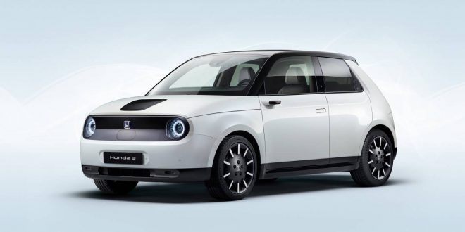 Honda e unveiled as brand's first mass production EV