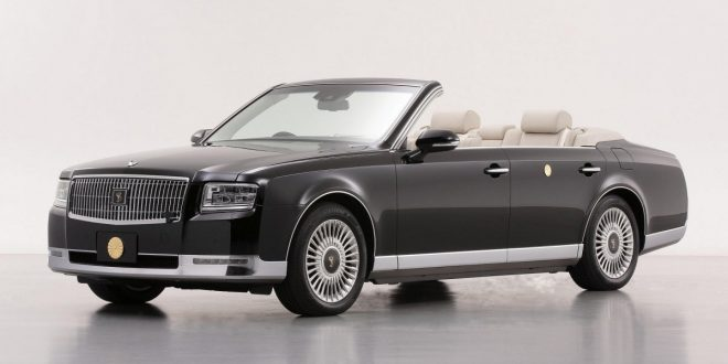 Toyota creates one-off Century Convertible for new Emperor