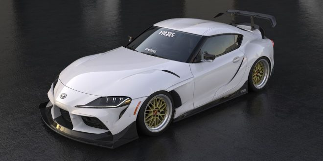SEMA bound widebody Toyota GR Supra gets us excited