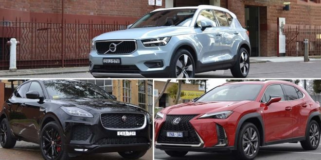 Lexus UX vs Volvo XC40 vs Jaguar E-Pace Review